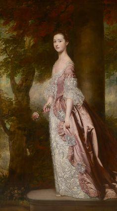 Miss Susanna Gale by Sir Joshua Reynolds