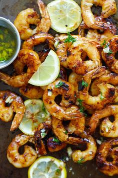 Grilled Honey Cajun Shrimp - amazing grilled shrimp with honey Cajun seasonings. Sweet, spicy, the best and easiest cajun shrimp ever from @rasamalaysia