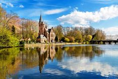 top 10 things to do in Bruges - Minnewater