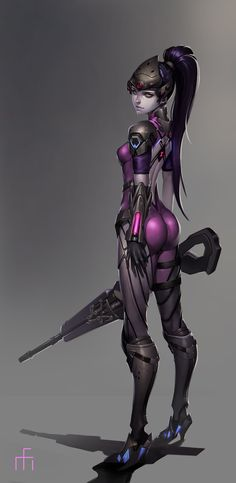 Widowmaker by Midfinger on DeviantArt