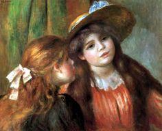 Pierre Auguste Renoir - Las dos hermanas