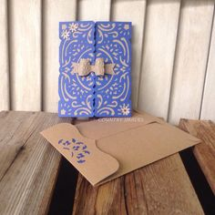 Happy Anniversary Gatefold Handcrafted Handmade by CountryShades
