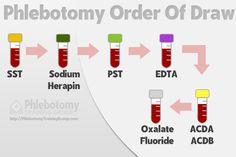 Phlebotomy Order of Draw #phlebotomy #phlebotomist