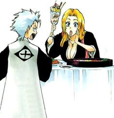 Find images and videos about bleach, rangiku and toshirou on We Heart It - the app to get lost in what you love. Anime Art Girl, Manga Art, Rangiku Matsumoto, Bleach Funny, Departed Soul, Fairy Tail Manga, Cute Anime Pics, Bleach Anime, One Punch Man