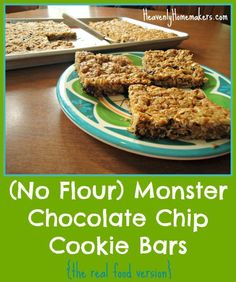 "When I saw the original recipe for these bars here, what really jumped out at me was the ""no flour"" thing. Avoiding flour is always a nice option in recipes. I also noticed the ""mini m&m"" thing but decided that while those are fun and tasty, they are on the naughty list and not required to make …"