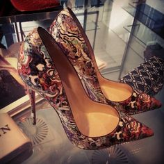 Christian Louboutin. Oh, Santa! Please...bring me these!!!