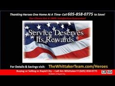 ▶ Black Hills Homes For Heroes - YouTube Video shows the real estate savings program for local and national heroes.