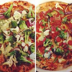 Gluten-Free pizzas anyone? Here's a grand rendition from Instagrammer @fitgirllucy using Gerry's Go No Gluten Wraps. Plastered with brocolli, cauliflour, red onion, tomatoes and cheese - looks amazing and thanks for sharing!