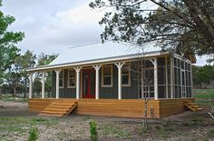 small cabin kits texas, good porch in small cottage house, nice and amazin design with interesting view, good idea for build your own