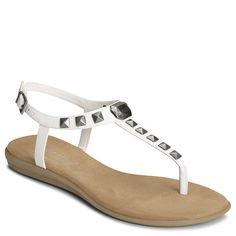 Chlose Together Studded T Strap Gladiator Sandal   Women's Sandals Flat Sandals   Aerosoles