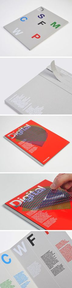 Team Impression printing guide, designed by Design Project:
