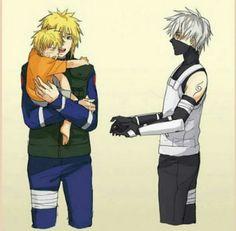 Favorite thing: ANBU Kakashi taking care of little Naruto