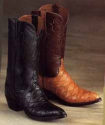 Lucchese - Exotic Anteater Boots