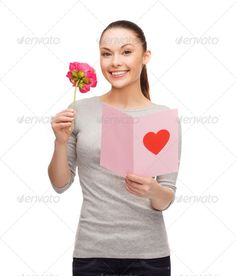 smiling woman with postcard and flower ...  amazed, anniversary, asian, attractive, beautiful, birthday, card, celebration, charming, compliment, day, excited, excitement, female, flower, gift, girl, happiness, happy, heart, hispanic, holding, holiday, invitation, isolated, latin, letter, looking, nice, note, peony, people, person, pink, poem, post, postcard, present, pretty, reading, relationships, romance, romantic, smiling, surprised, valentines, white, woman, wondering, young