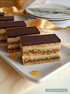 Šarena oranž pita Finger Desserts, Desserts To Make, Pita Recipes, Sweet Recipes, Easy Recipes, Bajadera Recipe, Cookie Recipes, Dessert Recipes, Baking Recipes