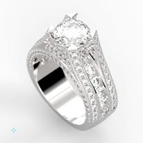 Simply gorgeous! Would you wear this ring?