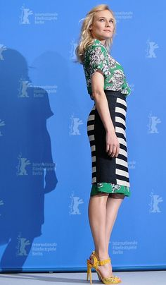 Diane Kruger wearing 10 Crosby by Derek Lam at the Berlin Film Festival photocall for Farewell My Queen, February 9th