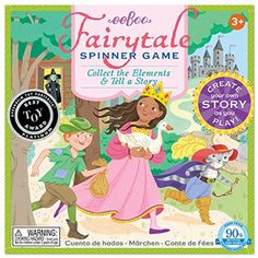 eeBoo Fairy Tale Spinner Game >>> Want to know more, click on the image. (This is an affiliate link and I receive a commission for the sales) #Games
