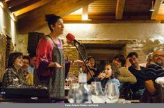 Sesiones Golfas con cuentos en el Restaurante La Bruja - 11 de abril - Pepe Maestro y Eugenia Manzanera Fotografía: Arturo Prieto / artYshot
