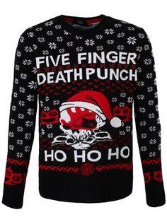 Five Finger Death Punch Christmas Jumper
