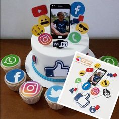 Cake with olives and feta - Clean Eating Snacks 14th Birthday Cakes, Birthday Cake Girls, Teenager Birthday, Birthday Party For Teens, Art Party Cakes, Iphone Cake, Emoji Cake, Teen Cakes, Cake Designs