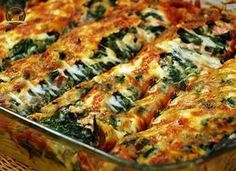 Spinach Gratin with Bechamel Sauce – My Delicious Food - Rezepte Spinach Gratin, Turkish Recipes, Ethnic Recipes, Sauce Béchamel, Good Food, Yummy Food, Appetizer Salads, Eastern Cuisine, Pasta