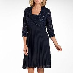 R Richards Glitter Lace Jacket Dress - jcpenney just wish it were available in other colors...