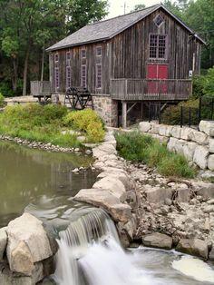 The Old Mill, Waterloo, Southwestern Ontario