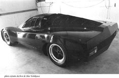 Musings about cars, design, history and culture - Automobiliac - Pete Brock's Prototype: Toyota's stillborn Le Mans project Japanese Grand Prix, Goodyear Tires, Carroll Shelby, Japanese Cars, Retro Futurism, Chevrolet Corvette, Le Mans, Fast Cars, Motor Car