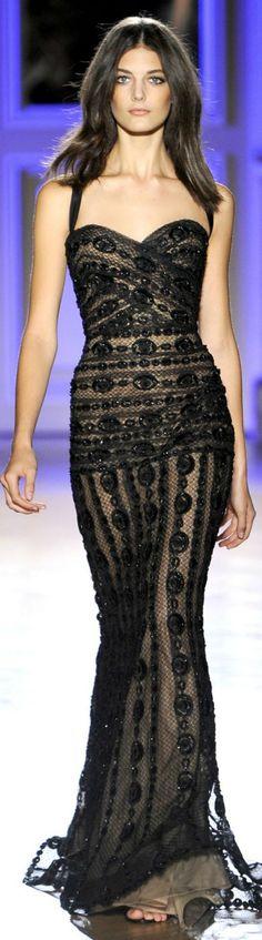 Glamour By Fatima: Mesmerising: Zuhair Murad Haute Couture Spring/Summer 2012 Haute Couture Paris, Couture Fashion, Runway Fashion, High Fashion, Paris Fashion, Spring Couture, Classic Fashion, Fashion Vintage, Modest Fashion