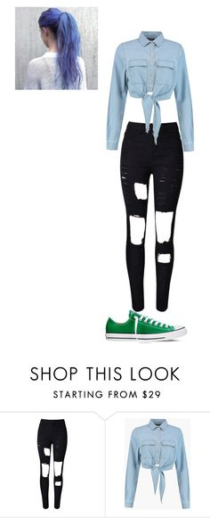 """""""Untitled #108"""" by maya-03-b on Polyvore featuring WithChic and Converse"""