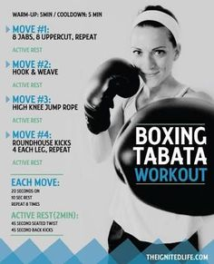 boxing hiit circuit - Google Search