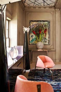 KELLY WEARSTLER | INTERIORS. Hillcrest Estate, Living Room