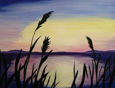 Sunrise on the lake Choices, Northern Lights, Sunrise, Nature, Painting, Travel, Art, Art Background, Naturaleza