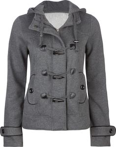 FULL TILT Womens Toggle Jacket
