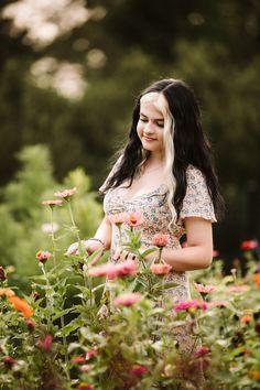 Senior Girl Poses, Senior Girls, Senior Photos, Senior Portraits, High School Photos, Blooming Trees, Girls With Flowers, Senior Photography, Beautiful Moments