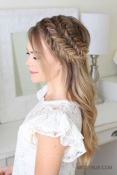 Today I'm excited to be sharing how I create these double dutch fishtail braids; along with three different ways to wear them! I recently wore my hair in the low bun version and couldn't wait to share a tutorial for it! This is such a…