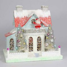 Look at santa on the roof!  Cody Foster Christmas House - Merry Merry House