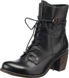 Stiefeletten Marke: Shoes Unlimited Obermaterial: Leder Futter: Textil Decksohle: Leder Laufsohle: Thunit Verschluss: Schnürverschluss Schafthöhe (gemessen an Gr. 37): 14,5 cm Schaftweite (gemessen an[...]. Weitere Informationen finden Sie unter mirapodo.de.