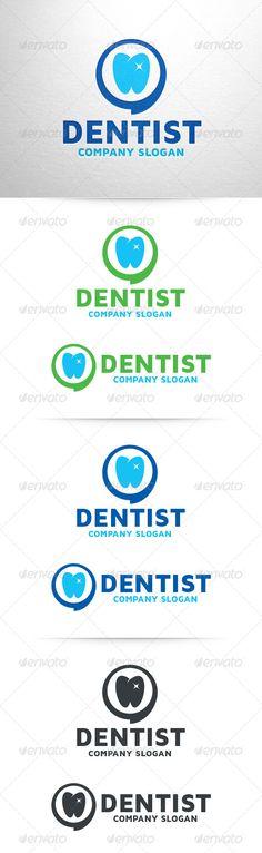 Dentist  - Logo Design Template Vector #logotype Download it here: http://graphicriver.net/item/dentist-logo-template/6922481?s_rank=543?ref=nesto