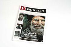 Newspaper by Oda Opheim Vinge, via Behance