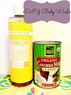 Cheap & Green in 2013: DIY Body Wash Using Natural Ingredients - Mindfully Frugal Mom