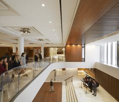 Over a three-year renovation period, Stanton Williams Architects have redesigned London's Royal Opera House in Covent Garden. Architecture Building Design, Space Architecture, Contemporary Architecture, Covent Garden, Royal Opera House London, Luke Hayes, Stanton Williams, Lobby Design, Opus
