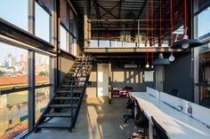 Completed in 2014 in São Paulo, Brazil. Images by Pedro Napolitano Prata. The refurbished building, located in Alto de Pinheiros - São Paulo, had its project developed to the Live Events Production Live Biz, using the...