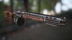 ArtStation - Modular Shotgun, Denis Garshin