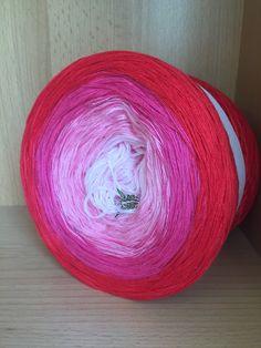 Bobbelmaniacs farbverlaufsgarn bobbel 200 gramos de color 529
