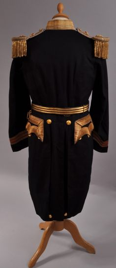 19th century Irish Royal Naval officers uniform