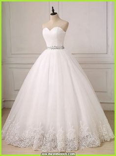 Princess Bridal Dress,Sweetheart Wedding Gown,Full Length Wedding - Princess Bridal Dress,Sweetheart Wedding Gown Simple,Full Length Wedding Gown A-line – Landress. Wedding Gown A Line, Simple Wedding Gowns, How To Dress For A Wedding, Western Wedding Dresses, White Wedding Gowns, Sweetheart Wedding Dress, Long Sleeve Wedding, Western Weddings, Tulle Wedding