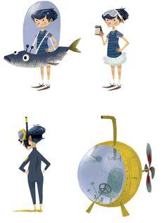 Irancartoon Web Gallery :: The Exhibition of Illustration & Character by Julia Sarda Portabella/ Spain :: 401367_217152175050739_6010