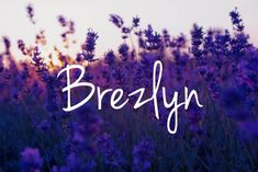Brezlyn - perfect baby girl name! - The latest in Bohemian Fashion! These literally go viral!